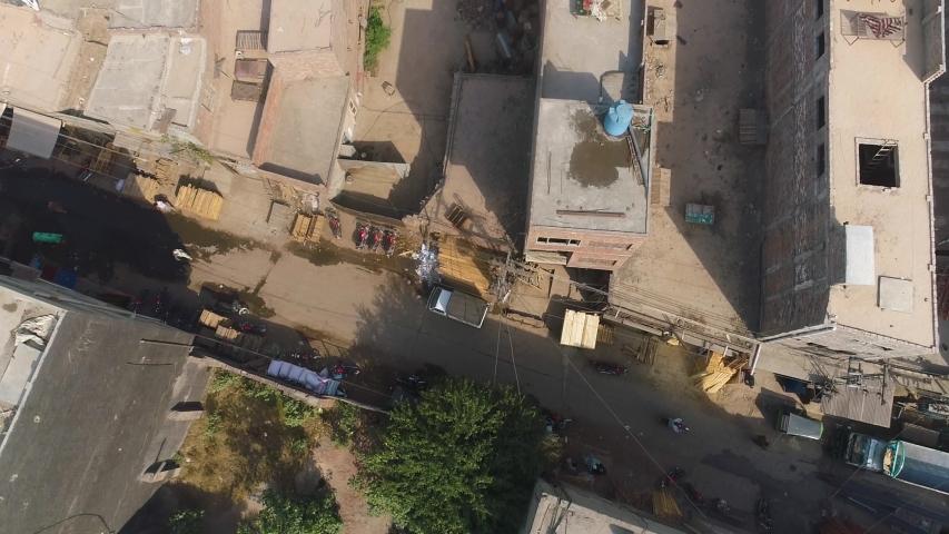 Lahore Pakistan Aerial 4k Stock Video Footage | Shutterstock HD Video #1029653723