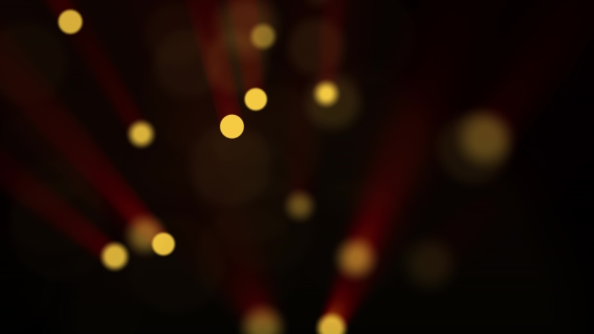 Particles gold bokeh glitter awards dust abstract background loop #1030041533