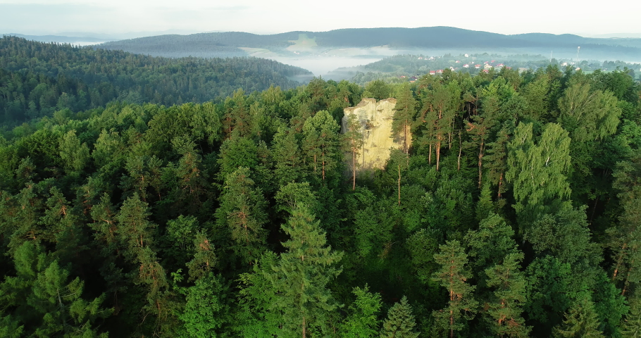 Drone footage of Kamie? Leski. | Shutterstock HD Video #1030240223