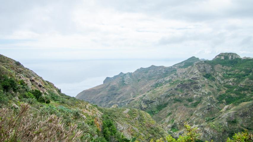 National Park Anaga Tenerife time lapse #1030799483
