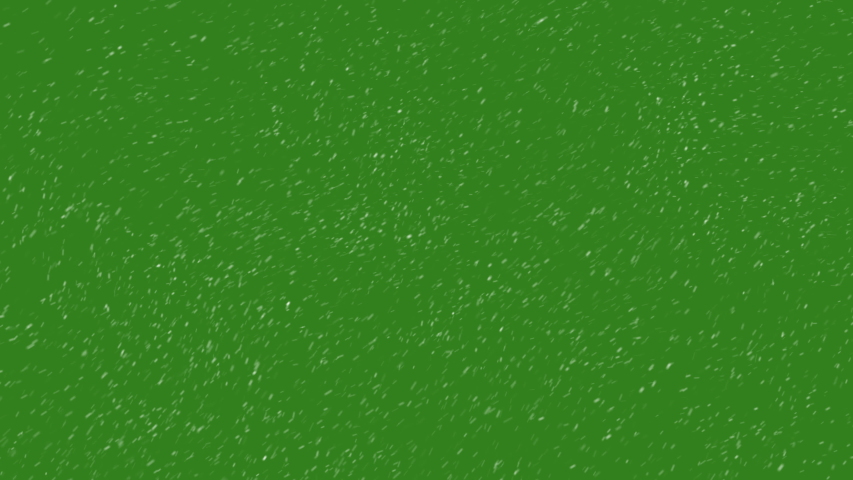 Animation Falling Snow Particles on a Green and Black Background.Winter Storm Concept. #1030953653