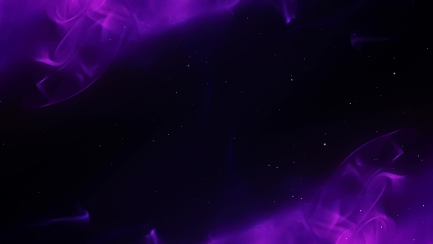 Mystical Smoke and Glitter Diagonal 4K Loop features purple hued smoke crawling across the corners of the screen in a diagonal with glitter sparkling in a loop   Shutterstock HD Video #1031325293