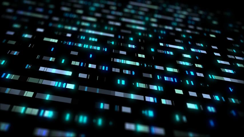 4K animation data concept technology  | Shutterstock HD Video #1031440133