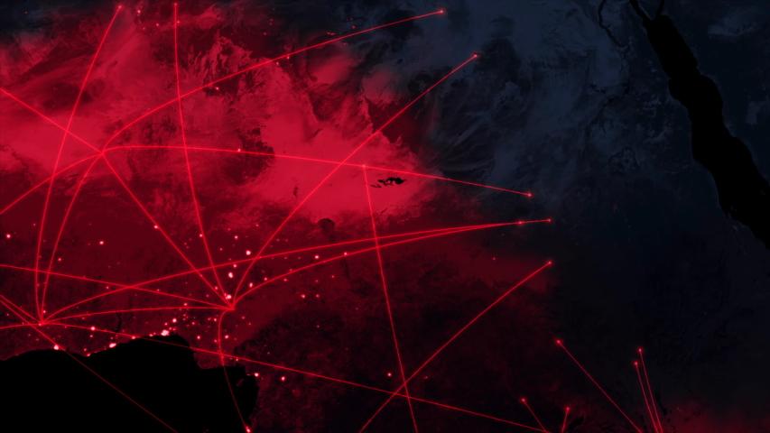 Killer virus spreads from Africa to worldwide | Shutterstock HD Video #1031479643