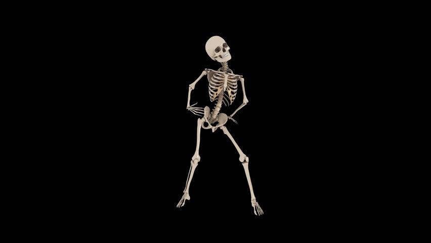 Funny Skeletons Hip Hop Street Stock Footage Video (100% Royalty-free)  10316093 | Shutterstock