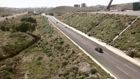 Zacatecas, Zacatecas / Mexico - 01 25 2019: Zacatecas,Mexico-January 25, 2019: A cinematic shot of a 2018 KIA Rio.