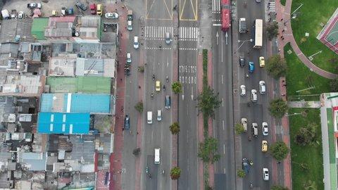 Transmilenio public transport Bogotá Colombia