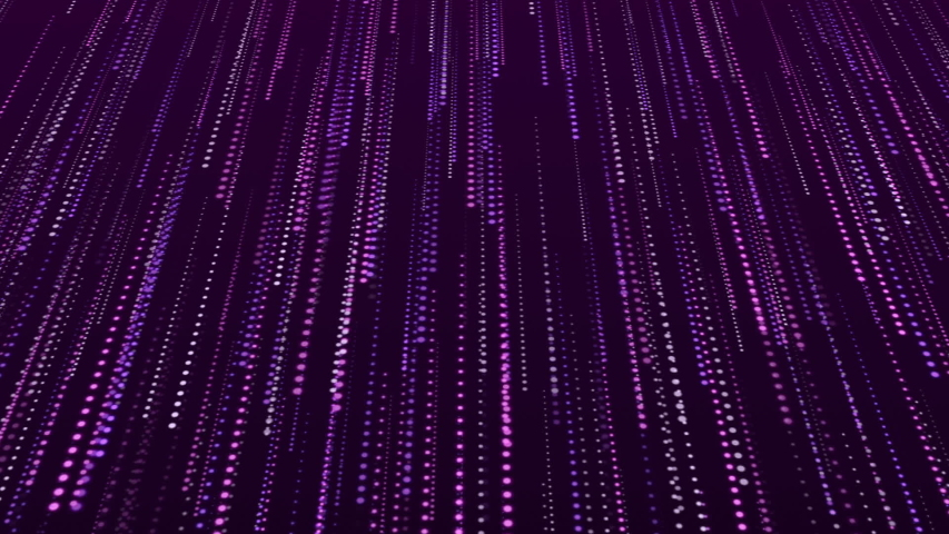 Abstract purple background with falling particles | Shutterstock HD Video #1034855093