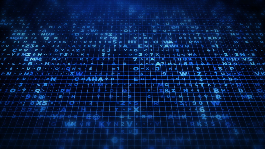 Futuristic Information Technology Concept Grid | Shutterstock HD Video #1035036953