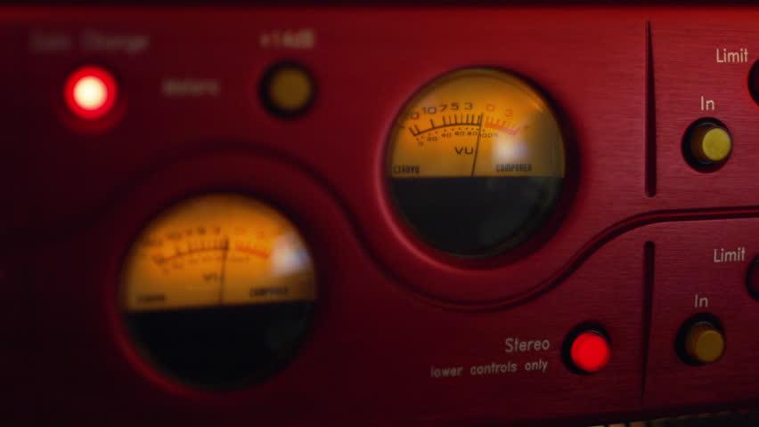Professional Music Studio Equipment Stock Footage Video 10355873