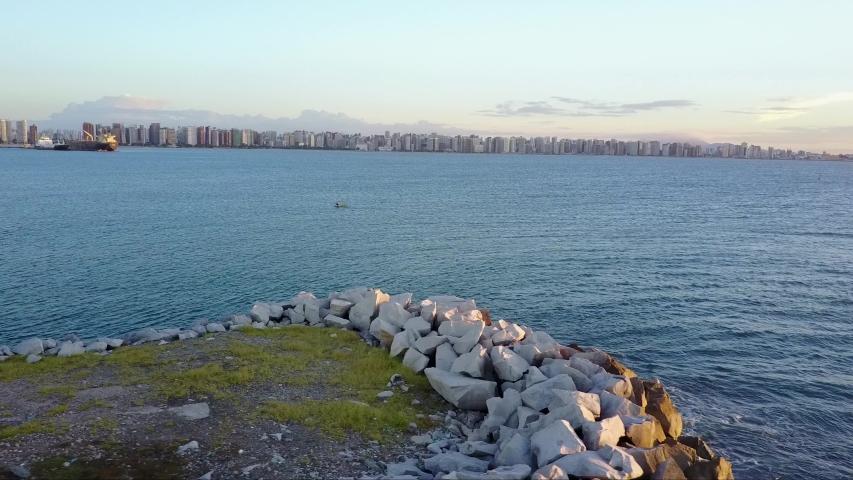 Fortaleza Sea - Ceará - Brazil | Shutterstock HD Video #1037350763