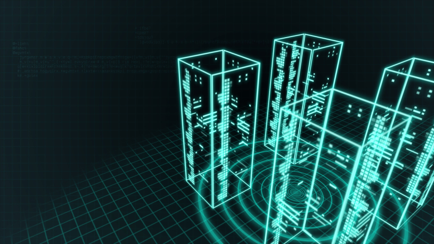 Server room and security network data | Shutterstock HD Video #1037495273