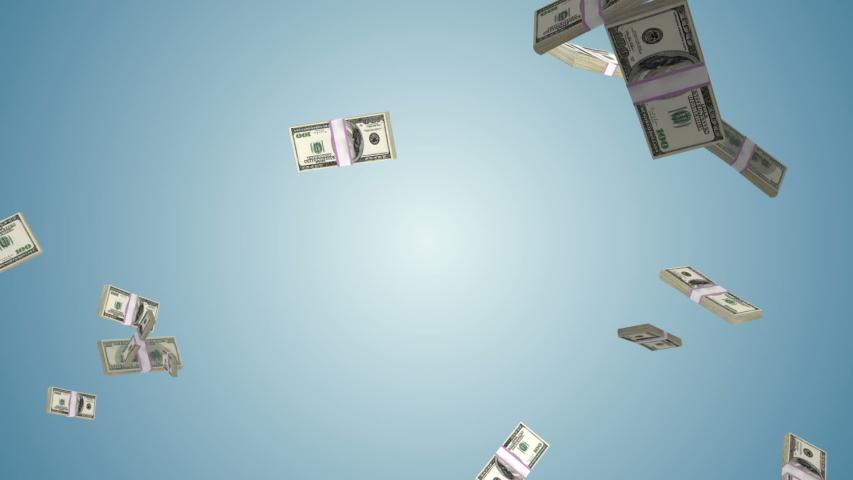 USD currency flying in slow motion, Alpha Channel   Shutterstock HD Video #1037503463