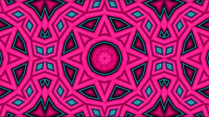 Multicolored kaleidoscope sequence patterns ; Hypnotic kaleidoscope stage visual loop for concert, night club, music video, events, show, exhibition, LED screens and projection mapping | Shutterstock HD Video #1037503763
