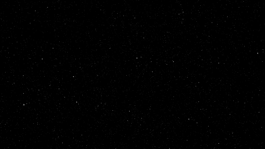 Animation of a Star field background.