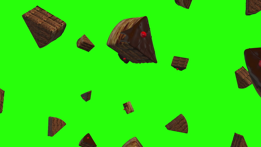 Green screen piece cake falling chocolate food bakery pie green screen falling cake piece chocolate piece bakery food green screen food cake food chocolate falling bakery falling green screen pie 3d | Shutterstock HD Video #1038694433