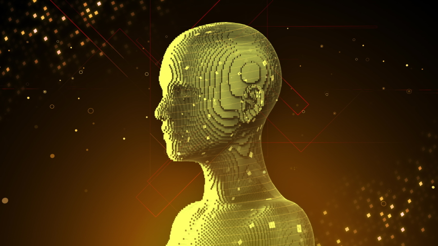 AI, artificial intelligence digital network technologies concepts Background. | Shutterstock HD Video #1038901703