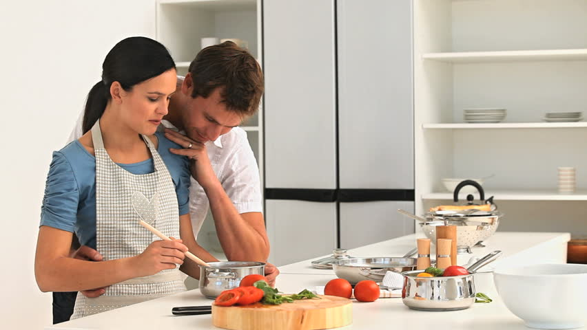 Image result for couple cooking together