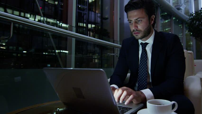 European Caucasian Night Hotel Business Video de stock (totalmente libre de  regalías) 10404923 | Shutterstock