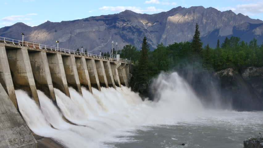 Dam Stock Footage Video