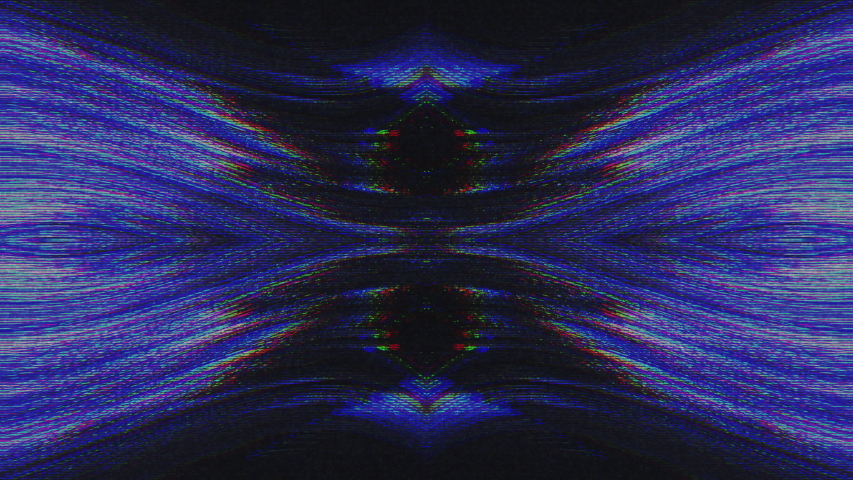 Abstract Symmetry and Reflection Digital Pixel Noise Glitch Background   Shutterstock HD Video #1040983553