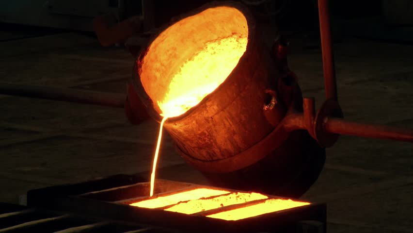 Iron and Steel Works. Metal smelting.