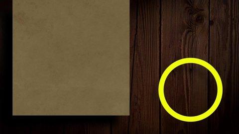 Motion Background Loop For Digital Signage Organic Design