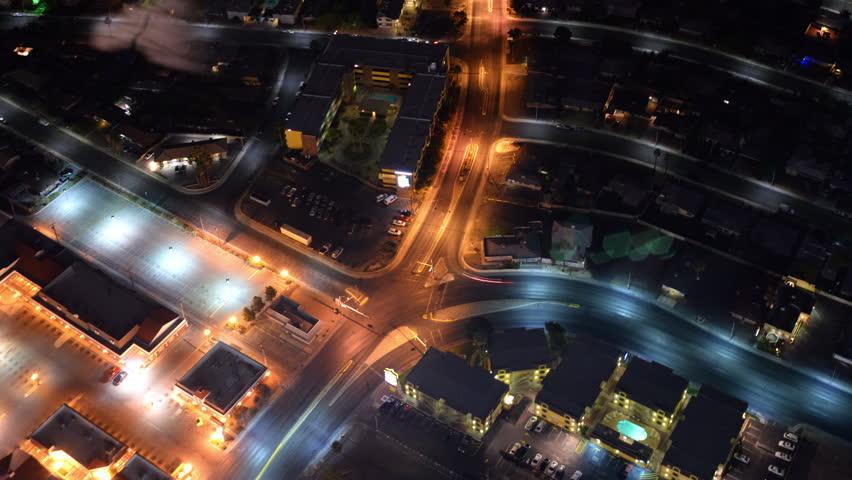 Las Vegas Timelapse Cityscape 43 Night | Shutterstock HD Video #10422353