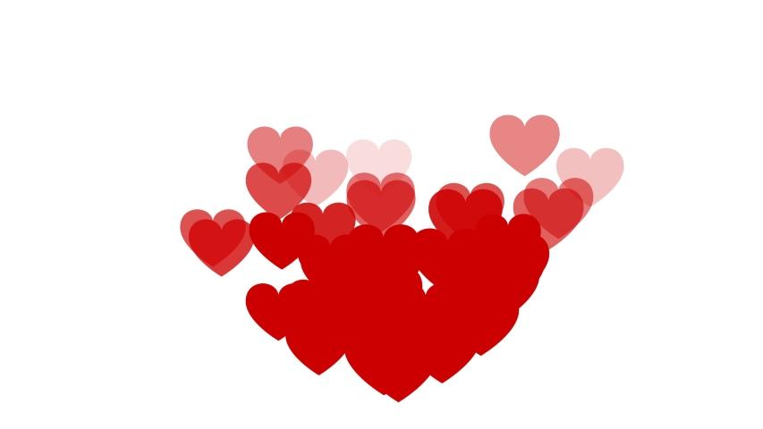 Social media background screen live style animated emoji heart social media icon. Social media icons, social media screen background. Valentine day love beautiful. | Shutterstock HD Video #1042781593