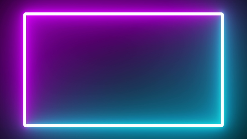 Glow neon colorful abstract background night futuristic | Shutterstock HD Video #1042925263