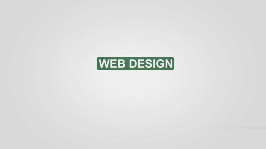 Web design intro outro title reveal animation  | Shutterstock HD Video #1045535473