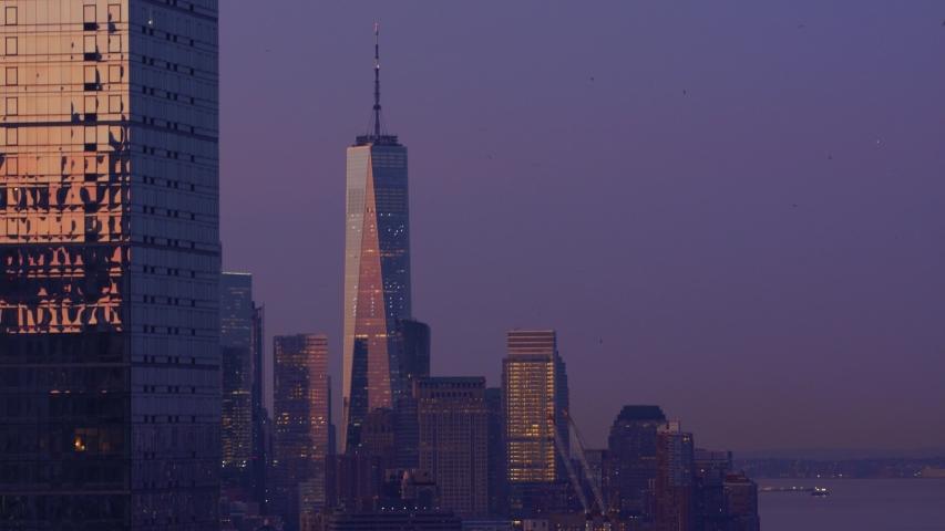 New York streets empty during coronavirus | Shutterstock HD Video #1048900213