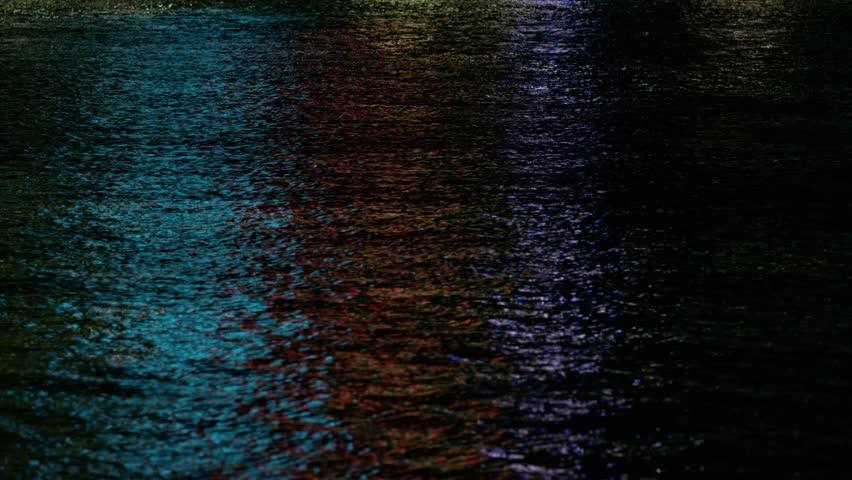 Brisbane River Night Lightshow #10505363