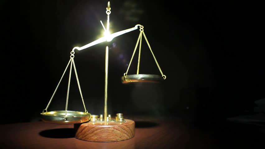 Balance Scale Stock Footage Video | Shutterstock