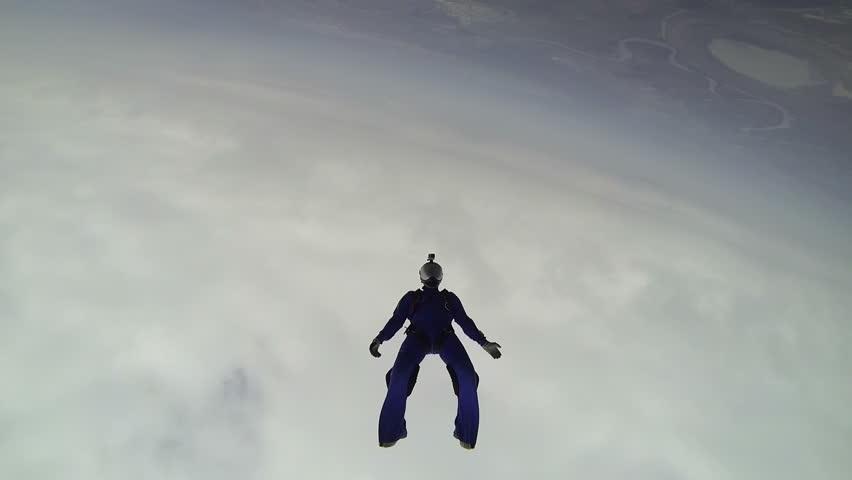 Skydiving video. | Shutterstock HD Video #10570289