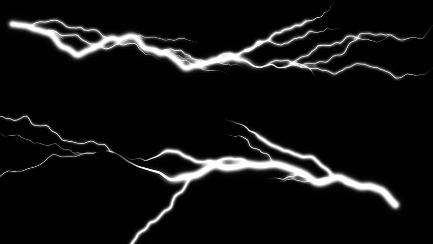 Lightning strikes black background 2 | Shutterstock HD Video #10659257