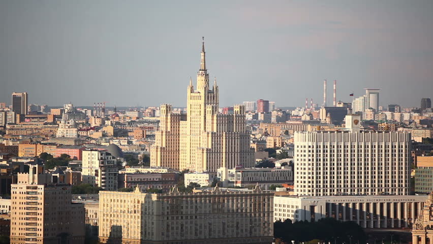 Moscow panoramic view | Shutterstock HD Video #10756433