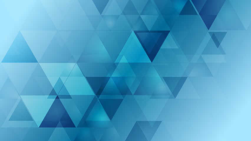 Light Grey And Blue Tech Geometric Motion Design. Video Animation ...