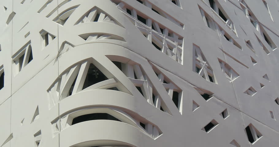 architectural concrete abstract white pattern