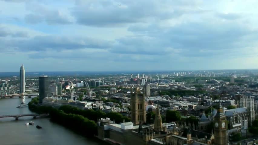 Cityscape  London . England. Slow motion video | Shutterstock HD Video #10852553
