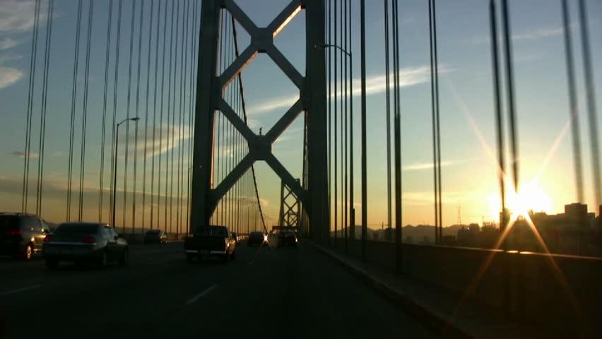 Crossing Bay Bridge