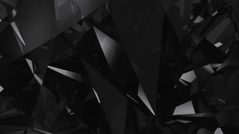 Abstract black diamond loopable UHD background