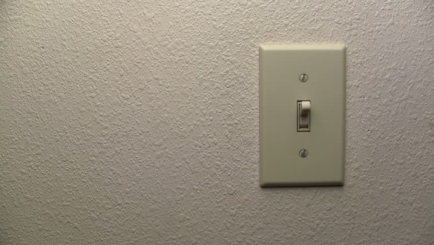 Saving Power By Turning Off A Light Switch