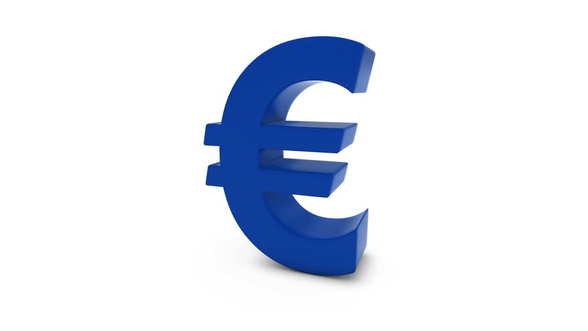 Euro Symbol With Stars Fading Stock Footage Video 100 Royalty Free
