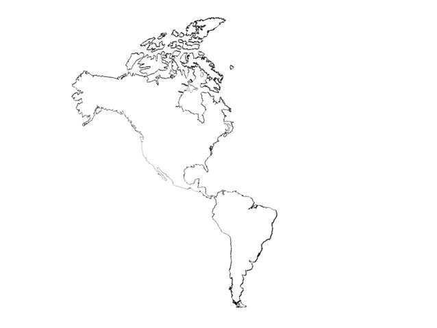 Map Of America Drawing.America Continent Draw Stock Footage Video 100 Royalty Free 110263 Shutterstock