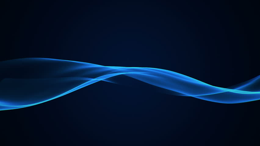 Abstract background with animation of moving wave silk or energy. Backdrop of beautiful soft air waves in slow motion. Animation of seamless loop. | Shutterstock HD Video #11043179