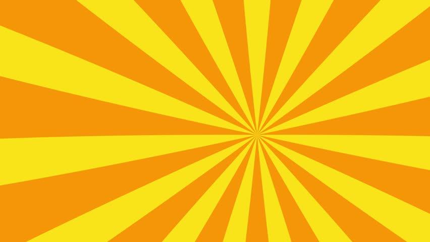 4k orange and yellow cartoon sun burst seamless loop motion background | Shutterstock HD Video #11165573