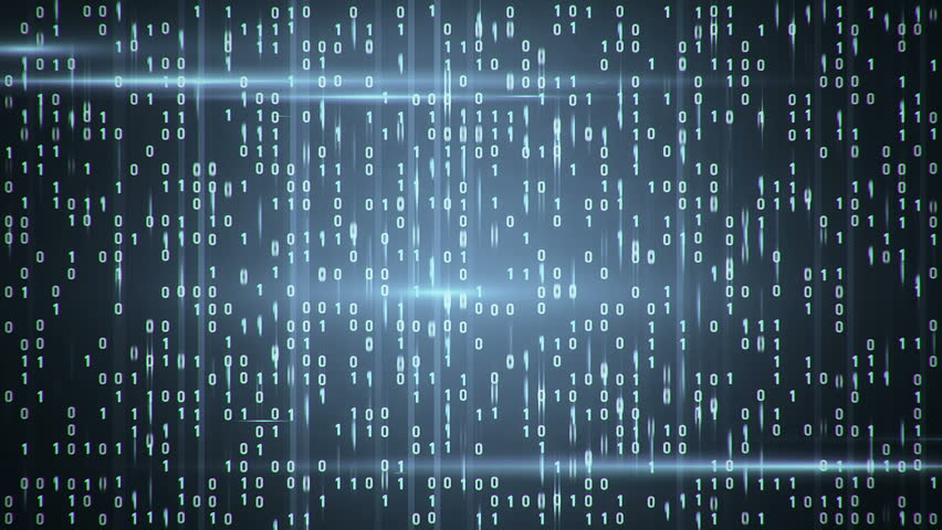 Abstract background with animation of binary code. Binary digits 1 and 0 in different configurations on color background. | Shutterstock HD Video #11178953
