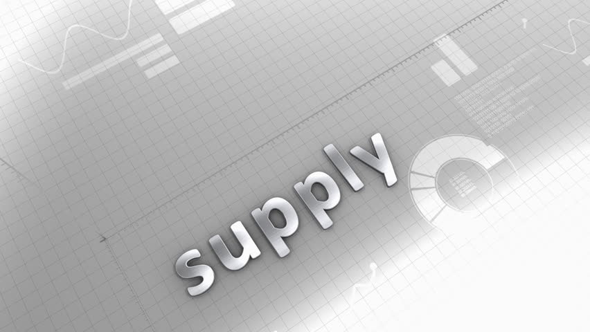 Computer generated, supply, demand, production, source, growing chart. | Shutterstock HD Video #11320823