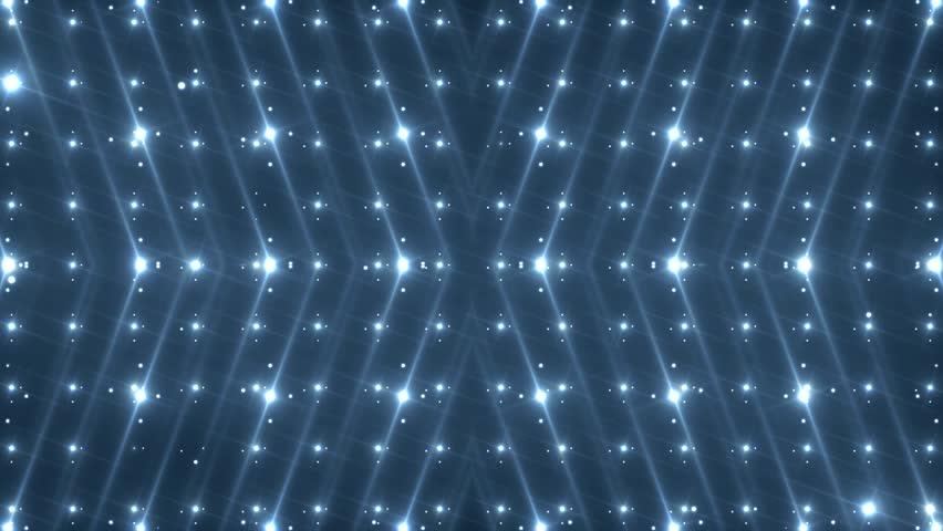 Concert Lights - Spotlights Light Rises On The Big Stage. Light ...